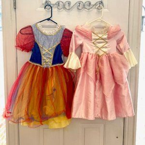 Bundle of 6 Dress Up Princess Dresses Ballet Dress